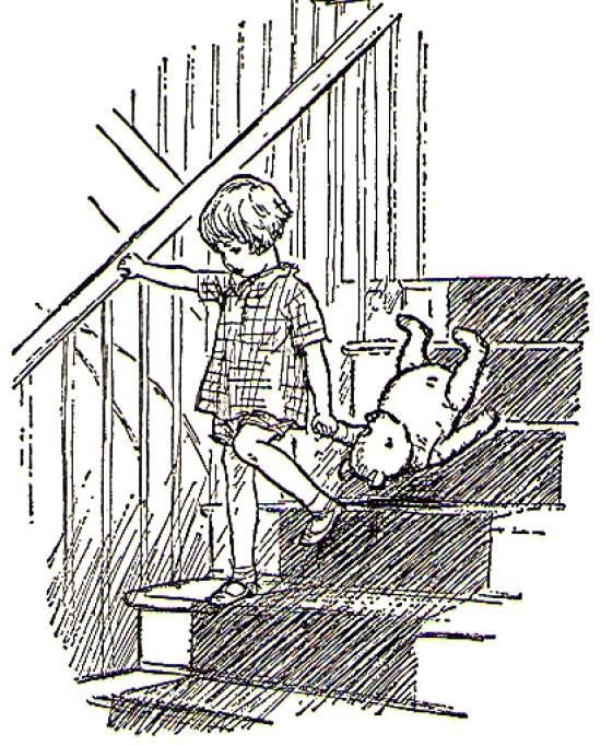 An Earnest Shepherd illustration from Winnie the Pooh