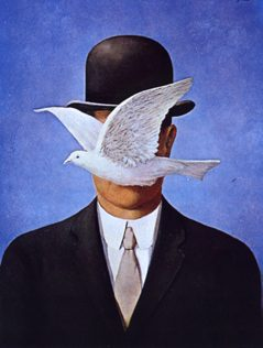 Rene Magritte, Man in the Bowler Hat