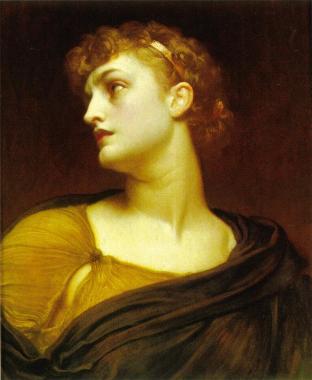 """""""Antigone,"""" Lord Frederic Leighton (1882)"""
