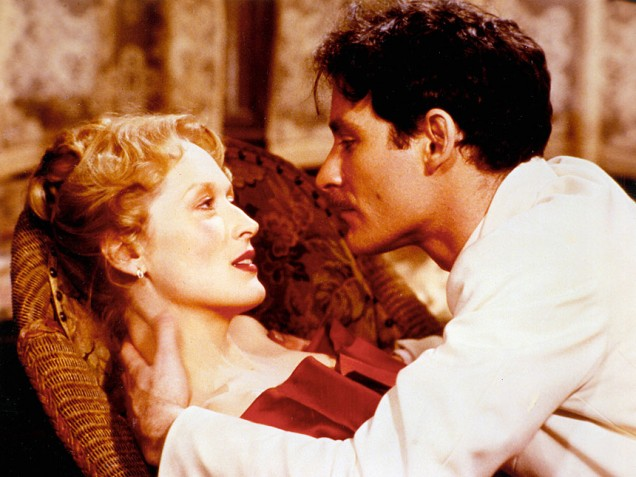 Streep and Kline in Sophie's Choice