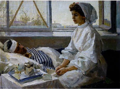 巴勃果夫. C    ' Little Nurse'    1962