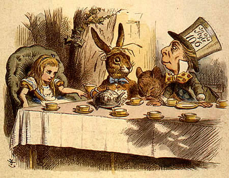 Alice in Wonderland, John Tenniel illus.