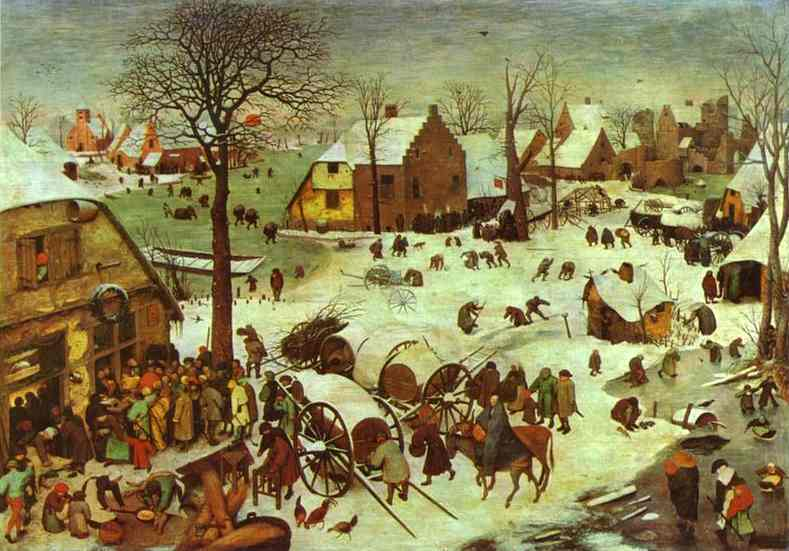 Peiter Bruegel, The Numbering at Bethlehem