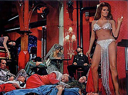 "Welch as ""Lust"" in Bedazzled"