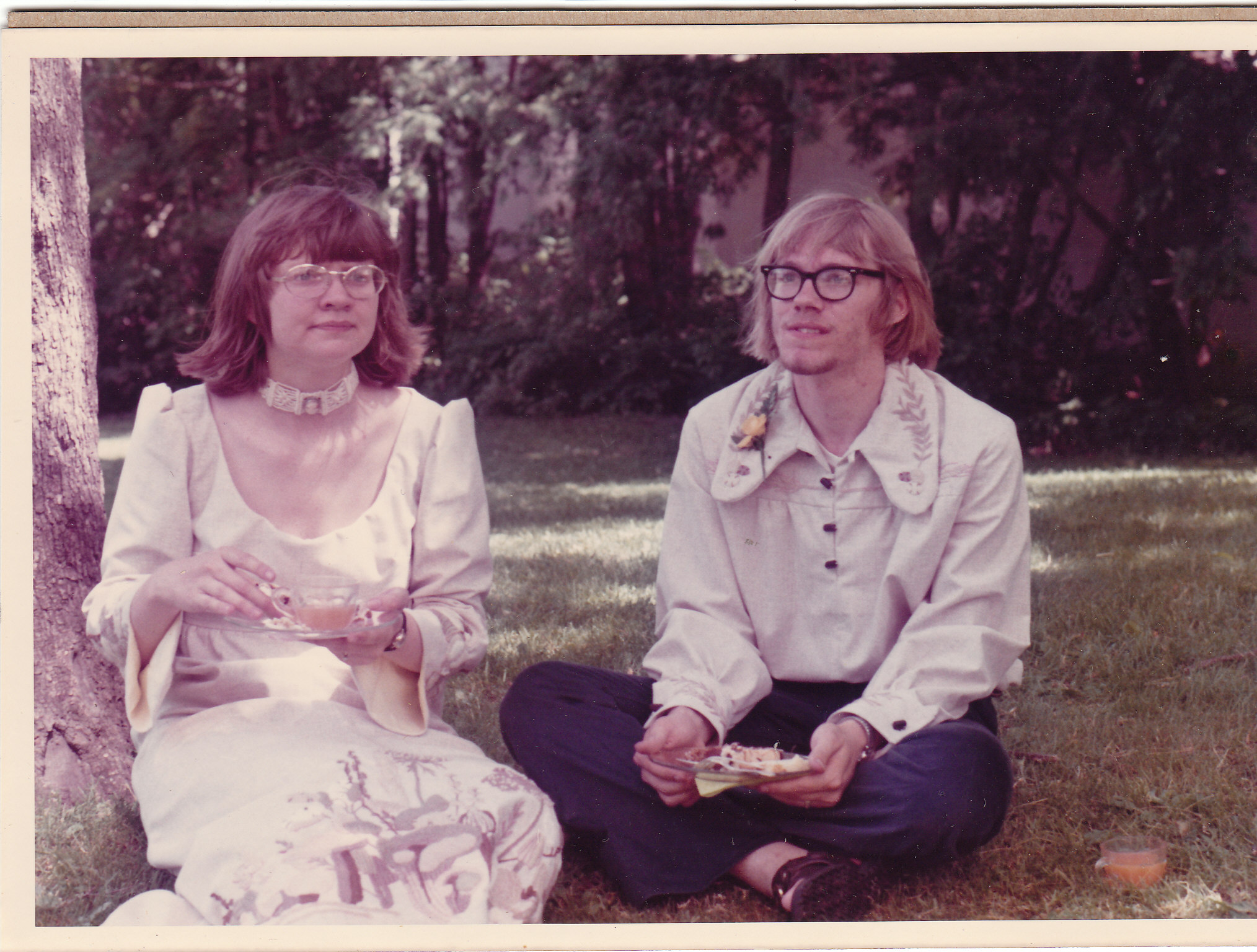 Wedding Day, June 8, 1973, Carleton College