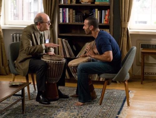 """Richard Jenkins, Haaz Sleiman in """"The Visitor"""""""
