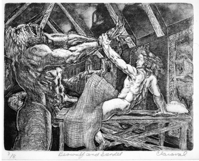 an analysis of dynamics between the characters of beowulf and grendel in beowulf