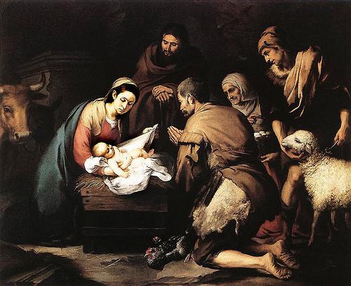 """Bartolomé Esteban Murillo, """"Adoration of the Shepherds"""""""