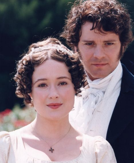 Television programme, pride and prejudice starring Colin Firth a
