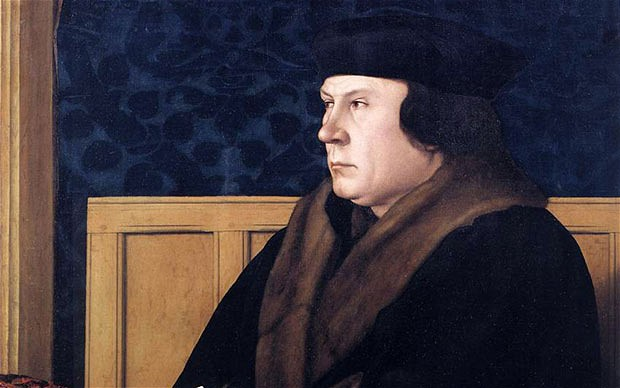 """Thomas Cromwell, hero of Hilary Mantel's """"Bring Up the Bodies"""""""