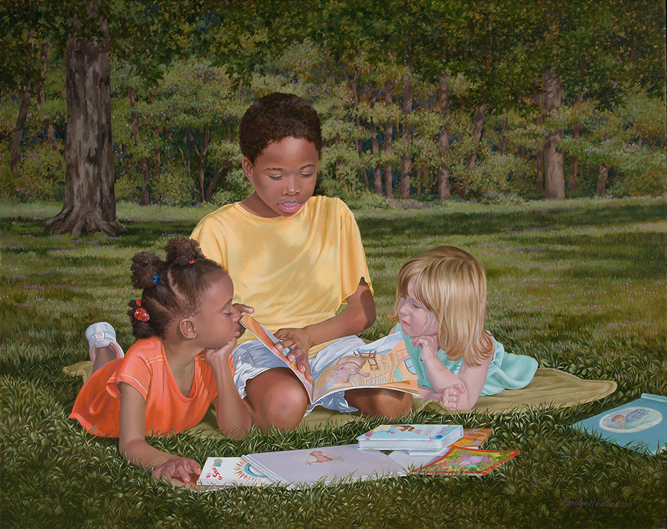 "Carolyn Edlund, ""Share the Joy -- Read"" (2010)"