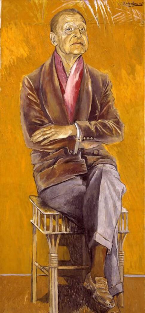 """Graham Sutherland, """"Somerset Maugham"""""""