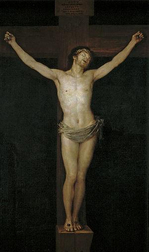 "Goya, ""Christ Crucified"""