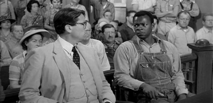 "Peck, Peters in ""To Kill a Mockingbird"""