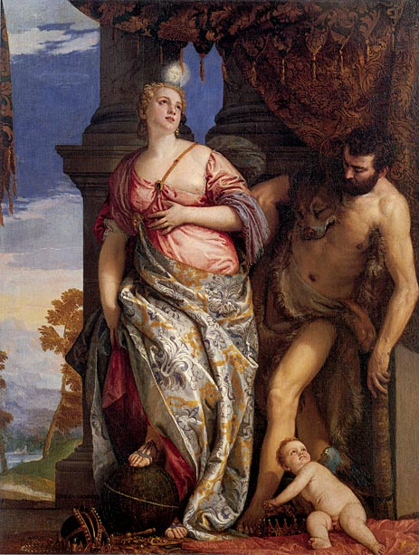 "Veronese, ""Allegory of Wisdom and Strength"" (1580)"