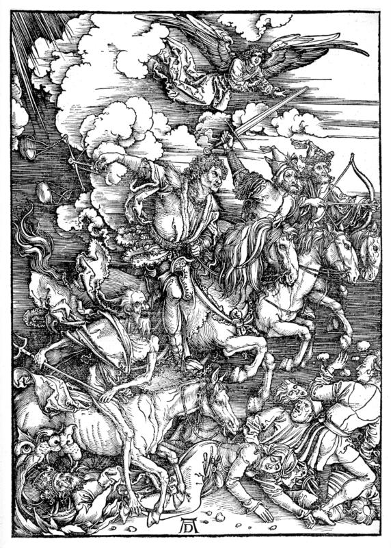 "Durer, ""Four Horsemen of the Apocalypse"""