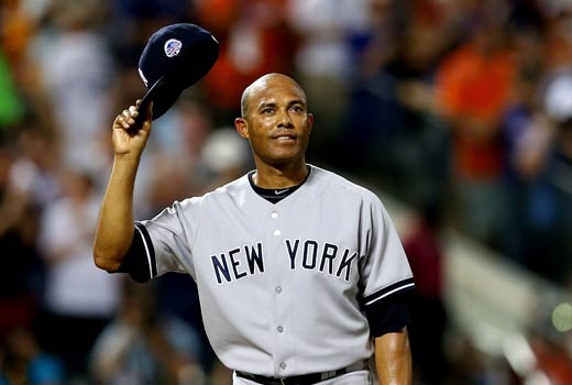 Mariano Rivera in his last All Star game