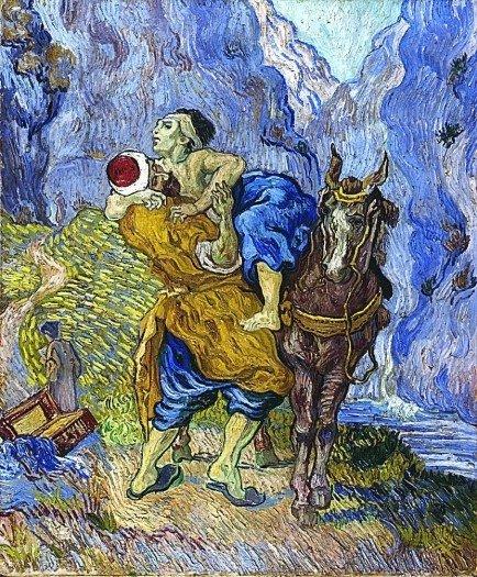 """Vincent Van Gogh, """"The Good Samaritan"""""""