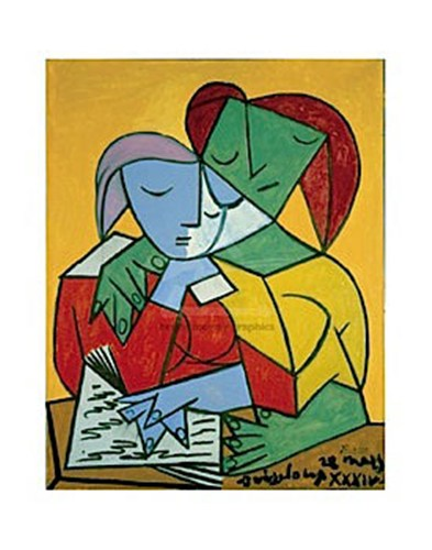 "Picasso, ""Two Girls Reading"""