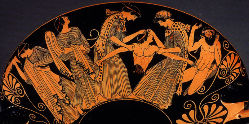 Agave and Bacchae tear apart Pentheus