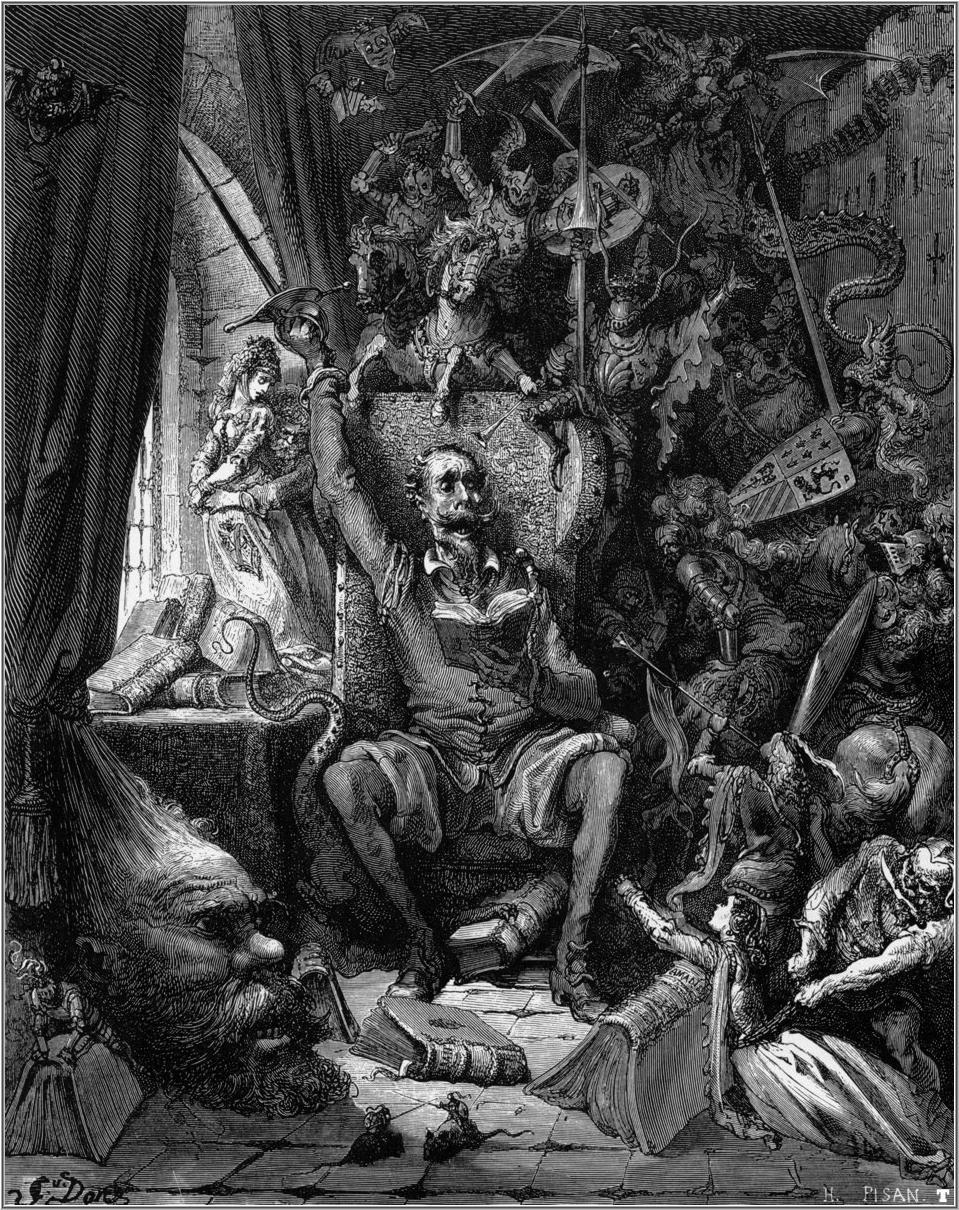 """Gustave Dore, """"Don Quixote"""""""