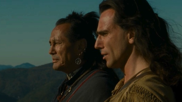 """Means, Day-Lewis in """"Last of the Mohicans"""""""