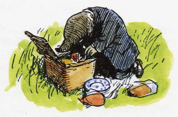 """Earnest Shepherd, Mole in """"Wind in the Willows"""""""