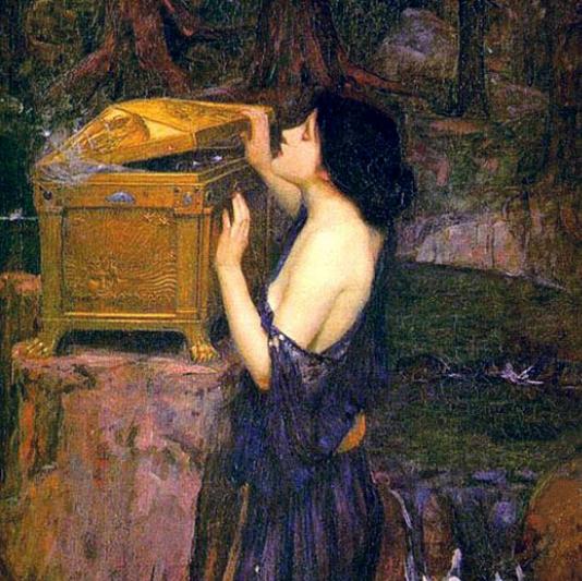 "John William Waterhouse, ""Pandora"""