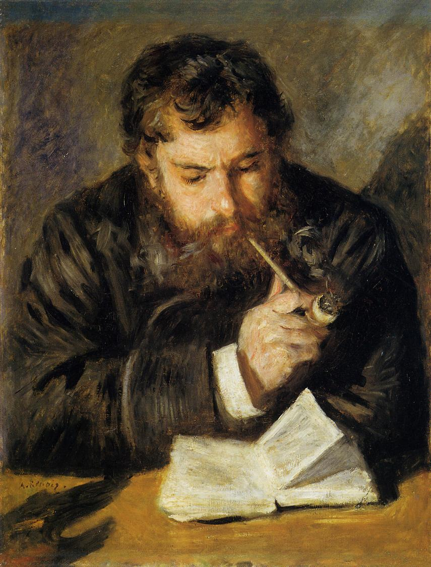 "Claude Monet, ""The Reader"" (1874)"