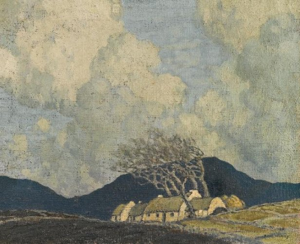 "Paul Henry, ""Storm in Connemara"""