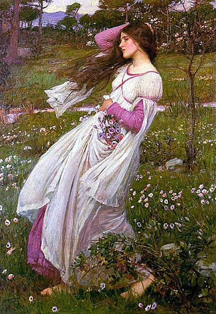 "John Waterhouse, ""Wind Flowers"""