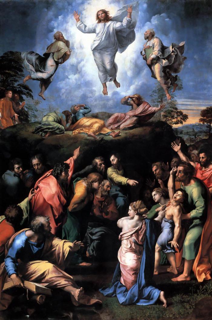 "Rafael, ""The Transfiguration"""