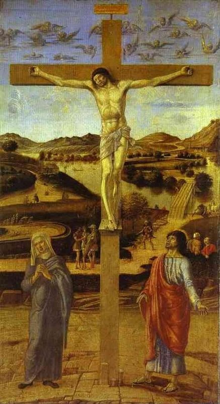 "Giovanni Bellini, ""Crucifixion"""