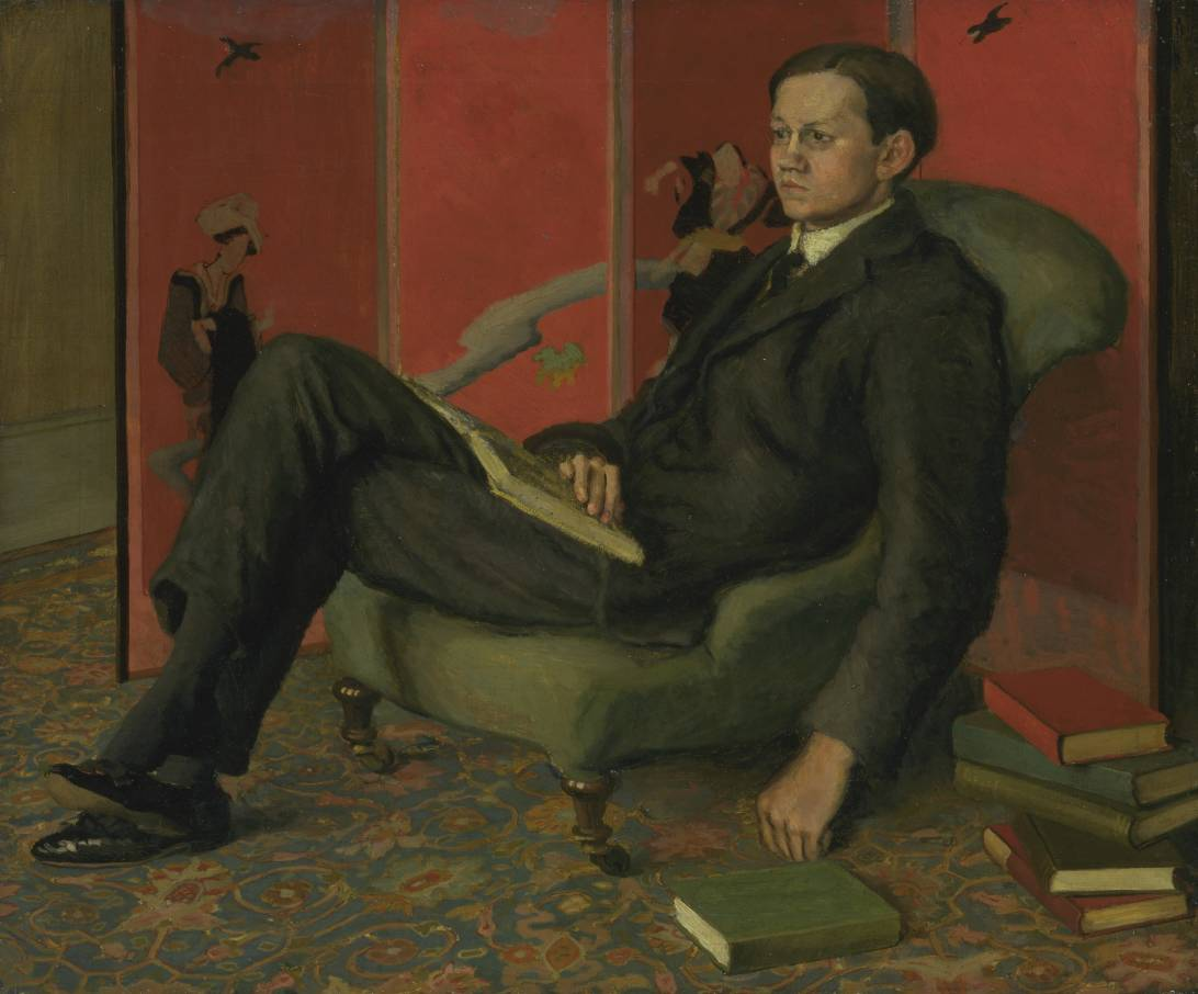 "Duncan Grant, ""James Strachey"""
