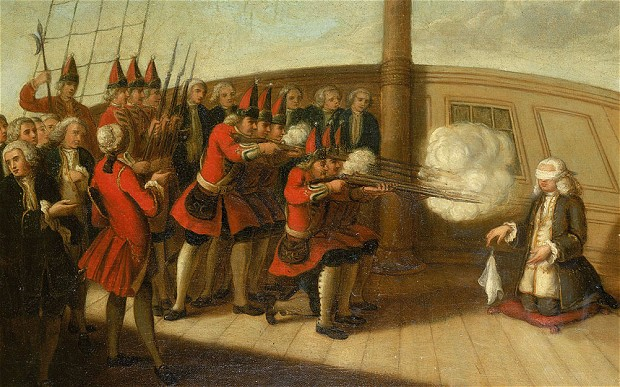 The Execution of Admiral Byng