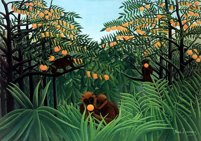 "Henri Rousseau, ""The Tropics"""