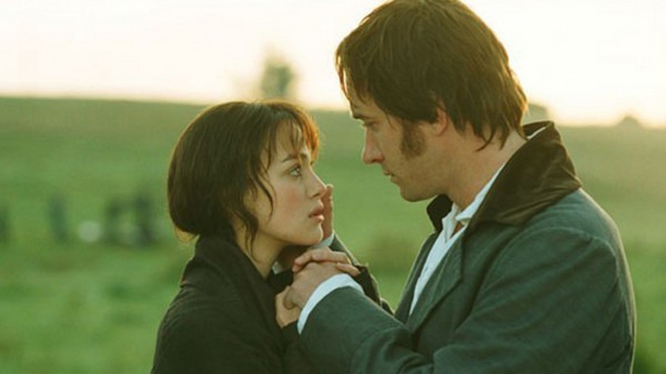 "Knightley, Macfadyen in ""Pride and Prejudice"""