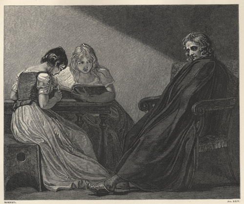 "Romney, ""Milton and His Daughters"""