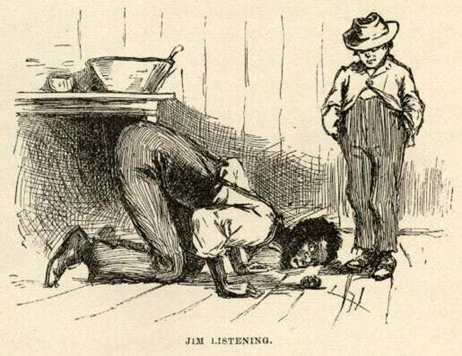 huck finn jims importance Detailed quotes explanations with page numbers for every important  of huckleberry finn from litcharts | the creators of sparknotes  huckleberry finn jim tom .