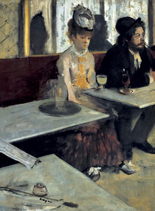"""Edgar Degas, """"L'Absinthe"""""""