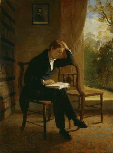 """Joseph Severn, """"John Keats"""""""