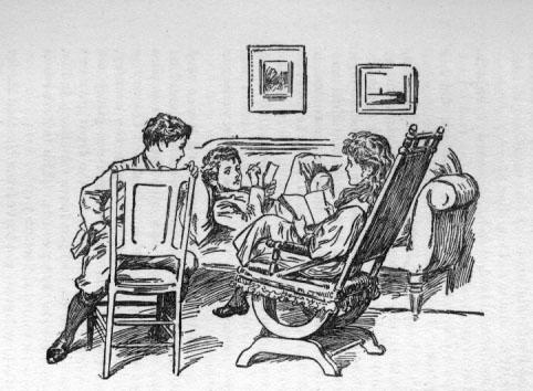"Illus. from E. Nesbit, ""The New Treasure Seekers"""