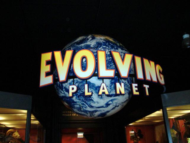 Field Museum's Evolving Planet exhibit