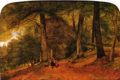 "Benjamin Leader, ""The Beech Wood"" (1859)"