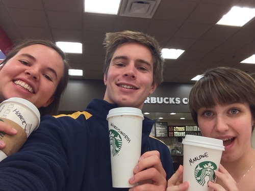 creators of Literary Starbucks blog