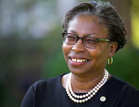 Tuajuanda Jordan, newest St. Mary's College of MD president