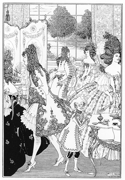 "Audrey Beardsley, ""Rape of the Lock"""