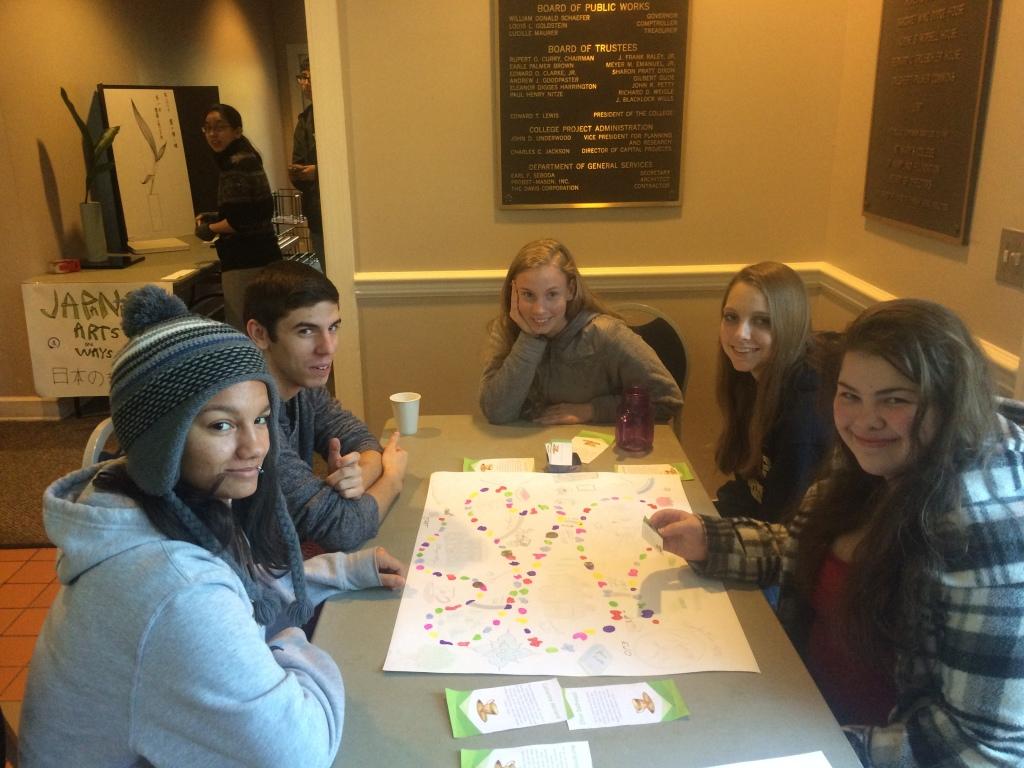 Abeni, Jacob, Izzy, Mairin & Sharon play Austenland
