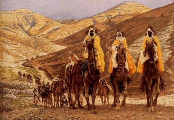 "James Tissot, ""Journey of the Magi"" (1894)"