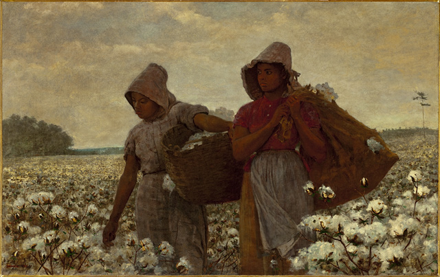 """Winslow Homer, """"The Cotton Pickers"""""""